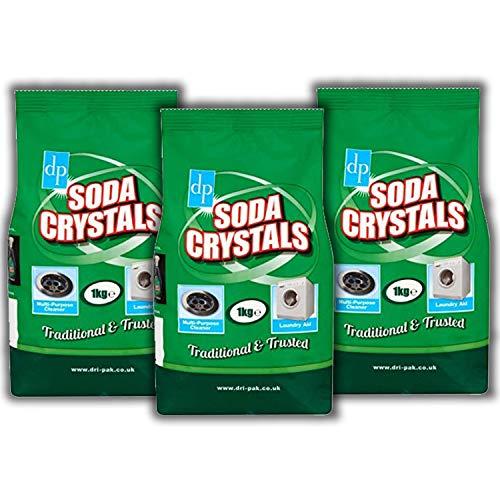 Cristales Dri Pak Soda 1kg x 3