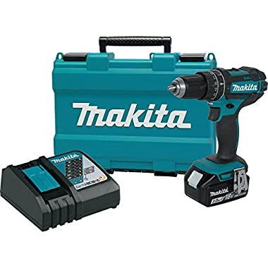 Makita XPH102 18V LXT Lithium-Ion Cordless 1/2  Hammer Driver-Drill Kit (3.0Ah) (Discontinued by Manufacturer)