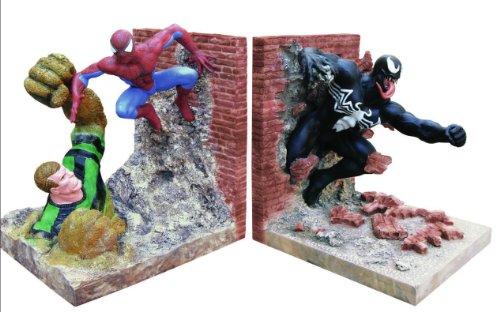 The Amazing Spider-Man - Villains Bookends - Spider-man, Venom, & Sandman image