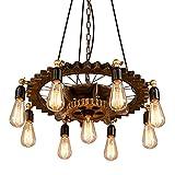 lampadario vintage lampadari rustici lampade a sospensione vetro lampada E27 Illuminazione Interni per Cucina Bagno Cameretta Soggiorno Lampada