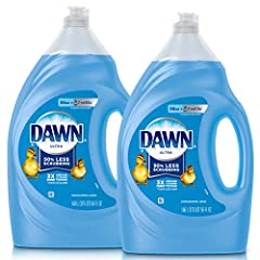 Contains 3x more grease-cleaning power (cleaning ingredients per drop vs. The leading competitor's non-concentrated brand) Concentrated formula helps you get through more dishes with less dishwashing liquid Original Scent Dawn Ultra Dishwashing Liqui...