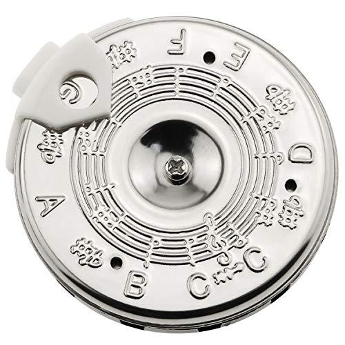 E-outstanding C-C Pitch Pipe 13 Tones Pitch Pipe 13 Note Pitch Pipe Tuner for Guitar, Erhu,Pipa,Banhu,Liuqin,Zhongruan, Violin
