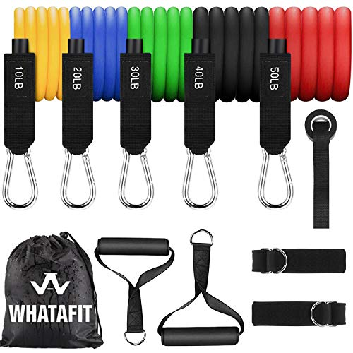Our #4 Pick is the Whatafit Exercise Resistance Bands
