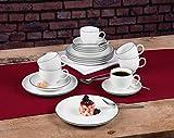 Seltmann Weiden 001.737147 Kaffeeservice 18-teilig Lido Black Line - 2