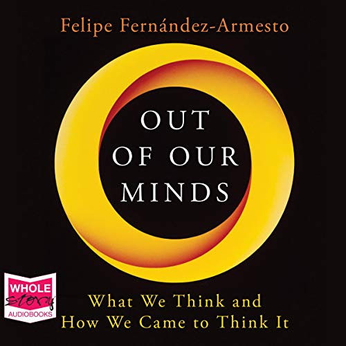 Out of Our Minds audiobook cover art