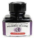 J. Herbin Fountain Pen Ink - 30 ml Bottled - Poussiere de Lune