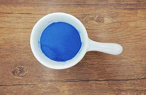 Ficocianina adictiva de los alimentos, polvo de ficocianina, pigmento comestible de la ficocianina natural, pigmento azul, ficocianina, polvo de espirulina azul y ficocianina orgánica (1 bag (7.05oz))