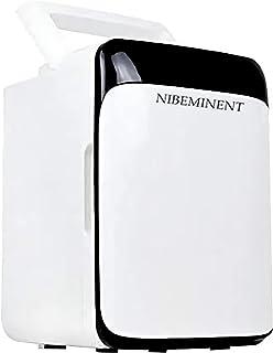 NIBEMINENT 10 L Car Refrigerator 220V/12v Mini Fridge Freezer Car/Home Dual-use Small Refrigerator Cold Box warmer Box Black