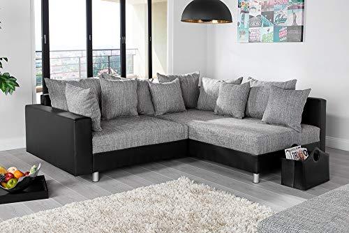 Ecksofa Couch –  günstig Design mit Hocker LOFT kaufen  Bild 1*
