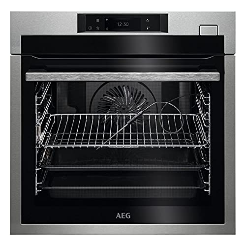 AEG BSE788380M SteamBoost Built-In Single Electric Steam Oven Touch Control