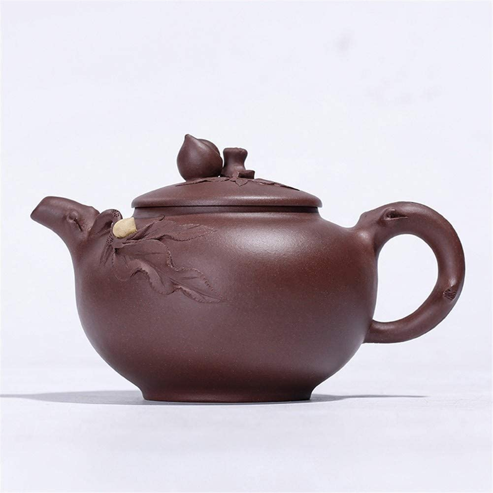 HUAXUE Teapot Japanese, Outlet sale feature Bargain New Tea Peac Purple Clay Cup