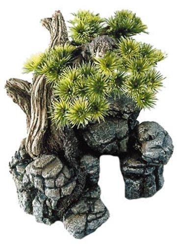 Europet Bernina 234-105337 Decor-Stein Bonsai 16.5 x 16.5 x 18 cm