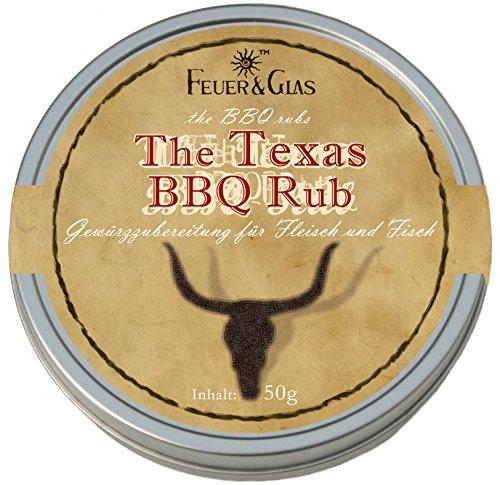 "Feuer & Glas – Miscele di spezie ""The Texas BBQ Rub"" (50g)"