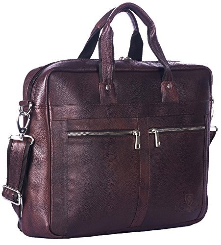 J WILSON London - Designer Genuine Real Distressed Leather 15' Laptop...
