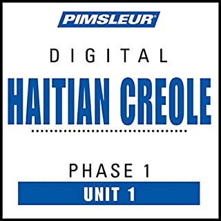 Haitian Creole Phase 1, Unit 01 audiobook cover art