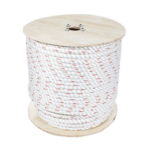 Golberg 3-Strand Twisted PolyDac, Combo Rope - (5/8 Inch x 50 Feet)