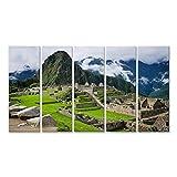 bilderfelix® Machu Picchu in Peru Wandbild Leinwandbild