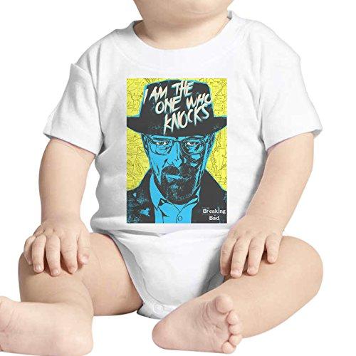 Body bébé Fashion Walter White Breaking Bad série TV Heisenberg – Blanc Blanc Bianco