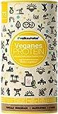 VEGANES PROTEIN - Double VANILLA | Volksshake | 1.1 kg | glutenfrei & sojafrei | mehr Inhalt | Natürlich mit Mandel-, Reis-, Hanf-, Chia- & Kürbiskernprotein