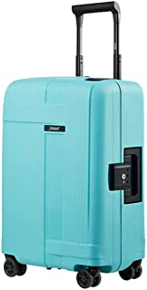 ZXJWLL Travel Box, Trolley Case, Large Boarding Box, Password Lock Box, Light Blue Travel Box (Color : Light blue)