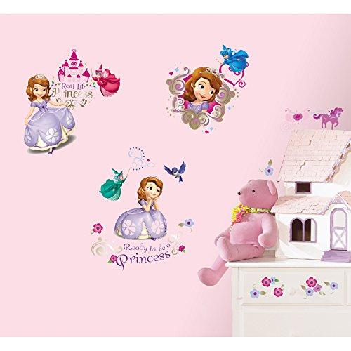 RoomMates RMK2294SCS - Pegatinas de pared La Princesa Sofía