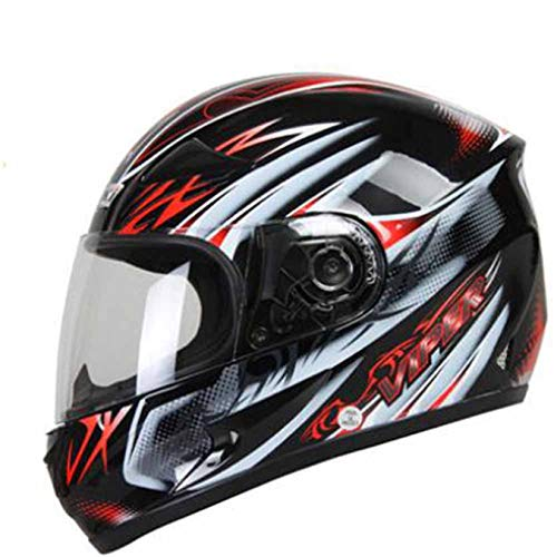 Full Face MotorcycleHelmet Abs Material Anti Fog Outdoor Highway Helmet Off Road...