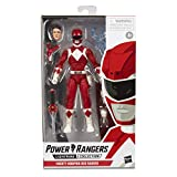 "Power Rangers E7755  Lightning Collection 6"" Mighty Morphin Red Ranger Collectible Action Figure Toy with Accessories"