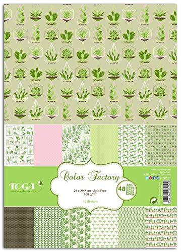 Toga - PPK001 Nacimiento, Papel, Végétal, 21 x 30,5 x 1 cm