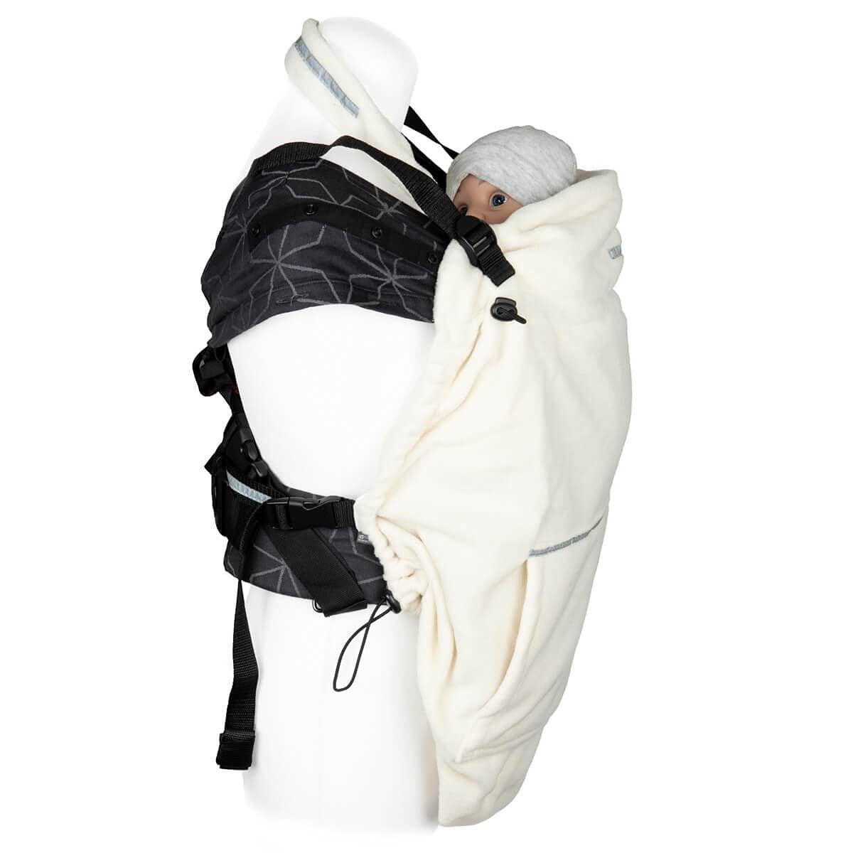 Hoppediz Fleece Cover 'Basic' Sand