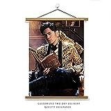 DEALBUHK Las Pinturas de Jay Chou Que rodean los Carteles de los álbumes de Jay Chou están Decorados con la Misma Foto en el Dormitorio de la Pared Mural. (Color : G)