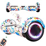 RangerBoard Hoverboard Enfant - 6,5' - Bluetooth - LED Coloré - Self Balancing Board Adulte - 700W...