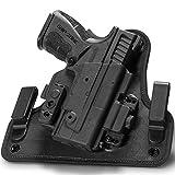 xdm clip - Alien Gear holsters Shape Shift Inside Waist Band - Springfield XDM 3.8 Compact - Right Hand - Standard Clips