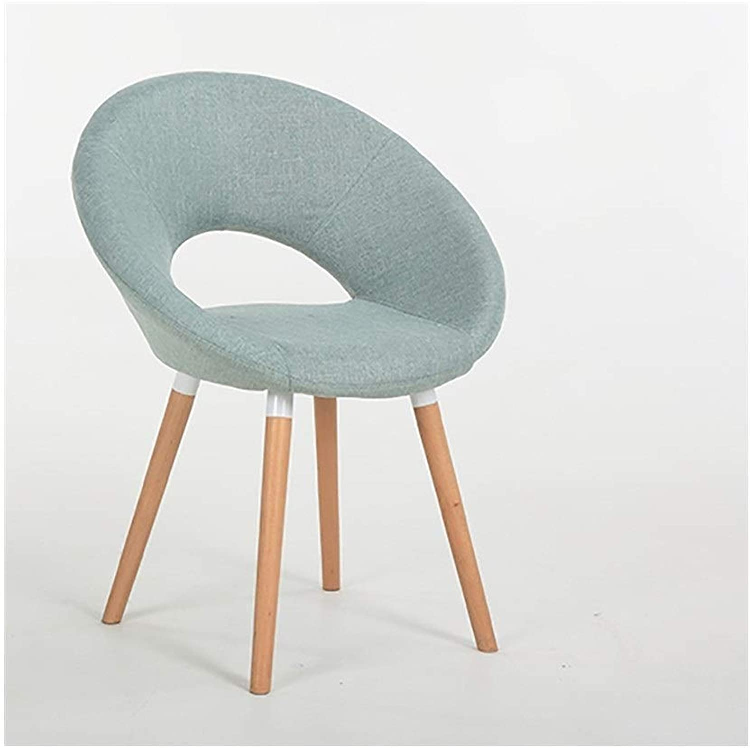 KXBYMX Solid Wood Dining Chair Desk Chair Simple Leisure Chair Designer Chair Hotel Coffee Chair Computer Chair - home stool (color   K)