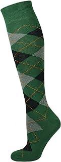 Mysocks Unisex Knee High Long Socks Argyle