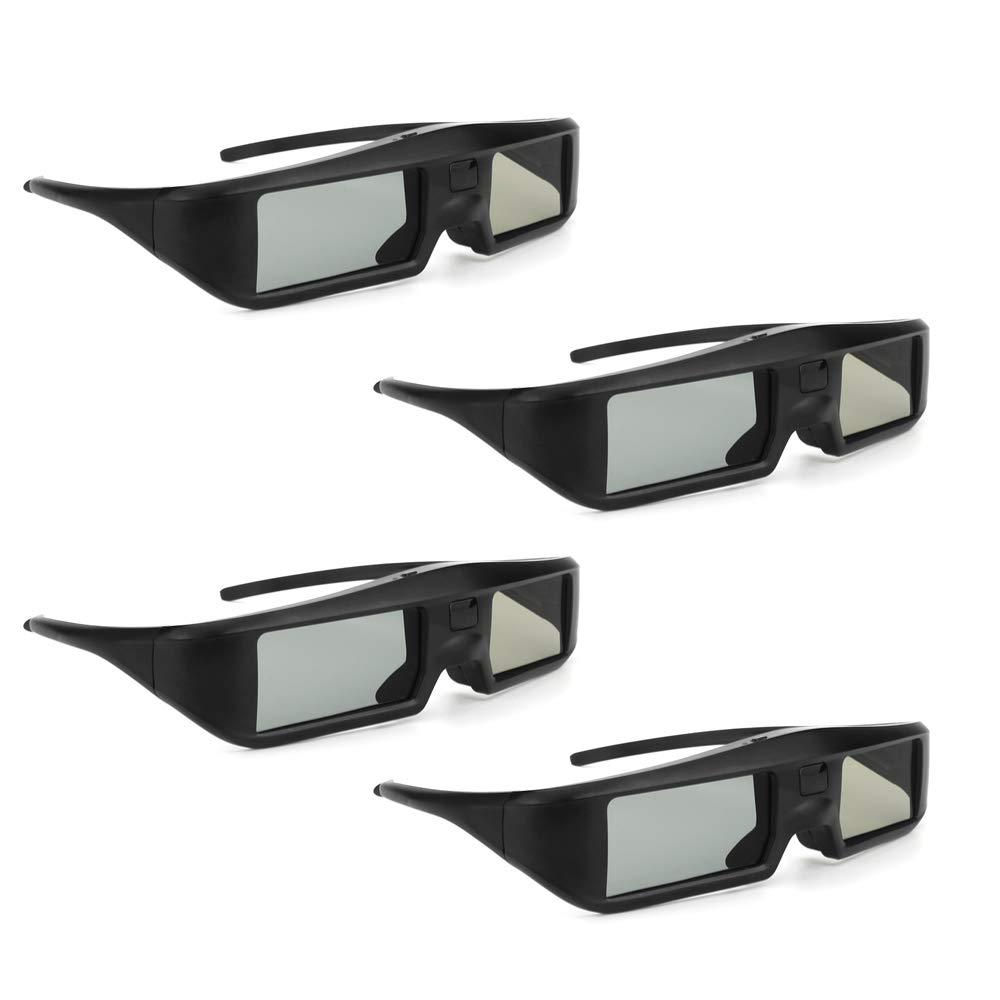 Docooler Oler 4 Pieza G06 de BT 3D Activa Shutter Vasos Virtual Reality BT se?al Especialmente para LG/Sony/Panasonic/Sharp/Toshiba/Mitsubishi/Philips/ 3D TV Smart TV: Amazon.es: Electrónica