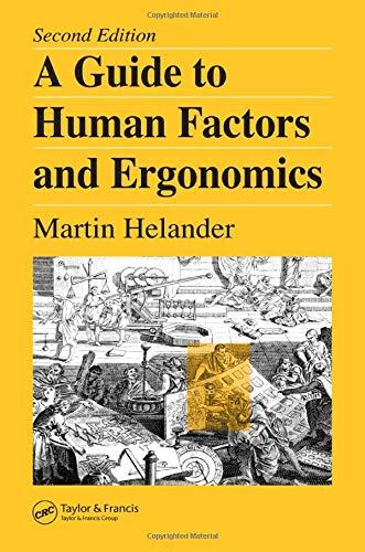 Download A Guide to Human Factors and Ergonomics 0415282489