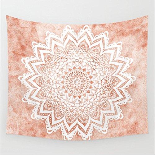 Indischer Wandteppich Wandbehang Mandala Tuch Wandtuch Gobelin Tapestry Goa Indien Hippie-/ Boho Stil als Dekotuch/Tagesdecke indisch orientalisch Psychedelic