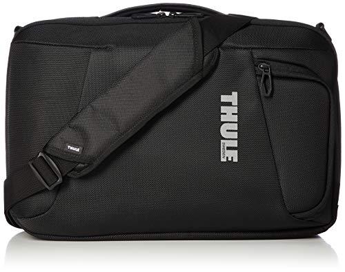 Thule 152900 Accent 2-in-1 Laptop Tasche (SafeZone-Fach, schneller Zugriff, gute Polsterung) Schwarz, 38,1 cm (15 Zoll)