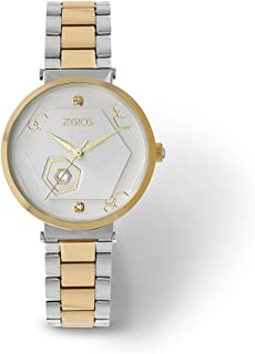 ZYROS Wristwatch for Women, Metal, ZAA163L060611W