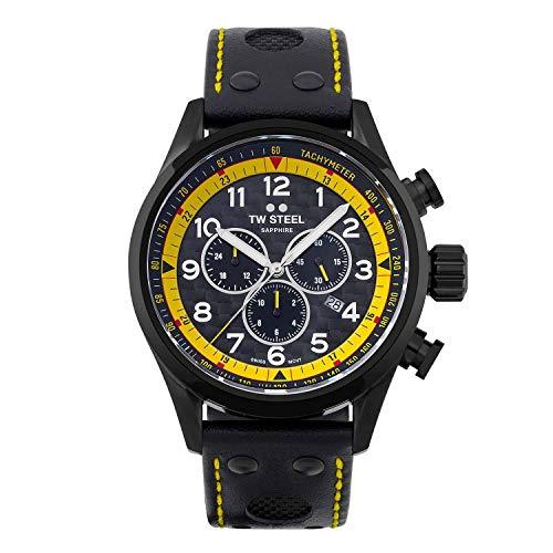 TW Steel Swiss Volante SVS301 WTCR Special Edition chronograaf horloge 48mm