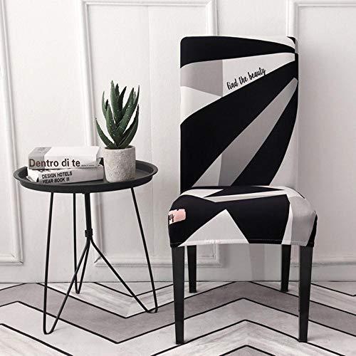 Keuken Stoelhoezen Stretch Stoelhoes Housse de chaise Grijze Hoes Stoel Handdoek Stoel Kruk Hoes Spandex Stoelhoes Eetkamer, Kleur 15, universele maten