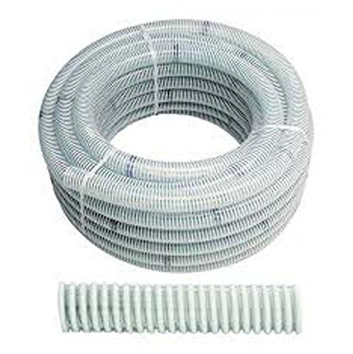 Bradas saf25 Tuyau d'aspiration/Impression Tuyau, Ali Flex, Longueur : 25 m, 7 Bar, diamètre 25 mm, Blanc, 40 x 40 x 20 cm