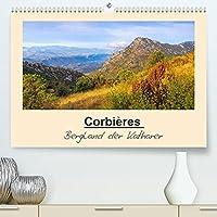 Corbieres - Bergland der Katharer (Premium, hochwertiger DIN A2 Wandkalender 2022, Kunstdruck in Hochglanz): Unterwegs am Fusse der Pyrenaeen (Monatskalender, 14 Seiten )