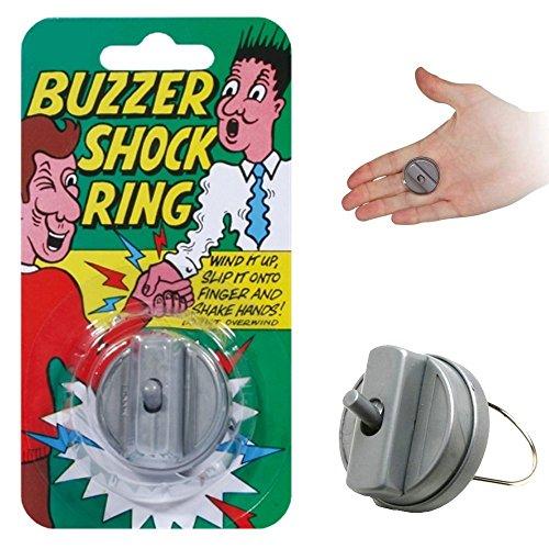 Poignée de main vibrante - Farce et attrape - Buzzer shock ring
