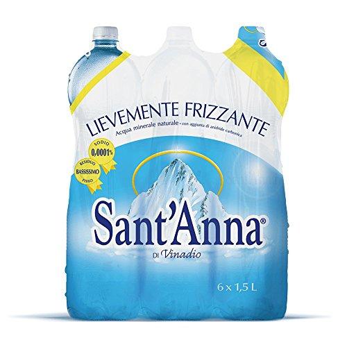 Sant'Anna Acqua Minerale 1.5L Effervescente (Confezione da 6)