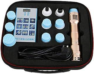 TTSTR Eficaz Onda De Choque con 7 Cabezas, ED Onda De Choque Terapia Externo Electromagnético Músculo Dolor De Esfuerzo Fisioterapia Instrumento,Ebony Gold