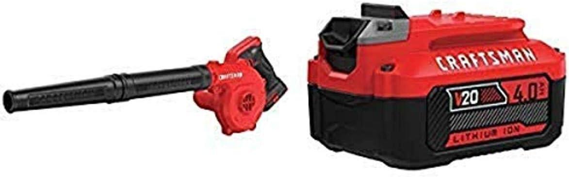 CRAFTSMAN V20 Cordless Blower CMCBL0100B /& CMMT99446 57-Piece Tool Only with Mechanics Tools Kit//Socket Set