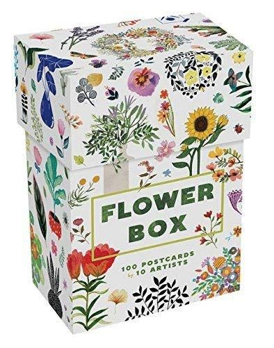 Flower Box: 100 Postcards by 10 artists