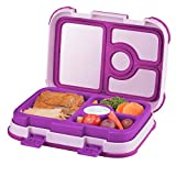 Best Lunch Boxes For Kids - Leakproof Kids Lunch Box | 4-Compartment Bento Box Review