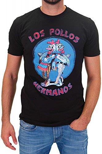 DSguided - T-Shirt - Homme - Noir - L